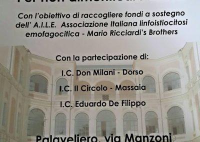 """Locandina Torneo di calcetto """"Per non dimenticare Mario"""""""