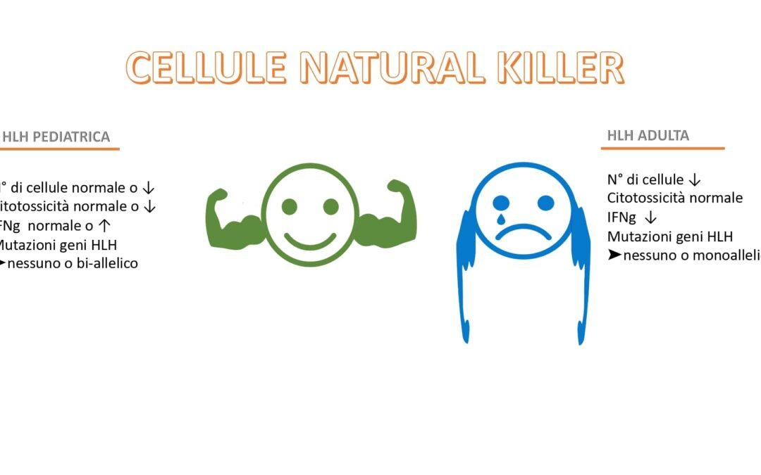 """Le cellule """"Natural Killer"""" nella HLH secondaria diventano incapaci di produrre INFγ"""